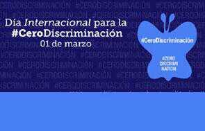 Día Internacional de la cero discriminación