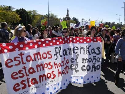 """Sevilla y su movimiento """"Unitario"""" por el día de la mujer"""
