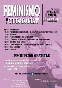 Cartel - Asamblea feminista